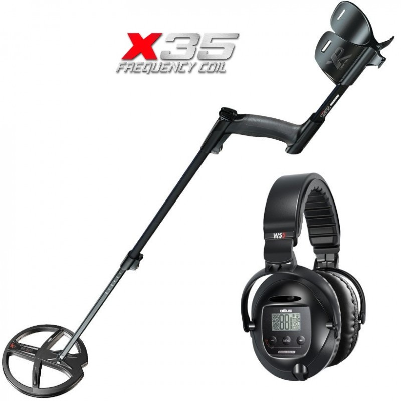 Металлоискатель XP Deus X35 v.5.21 (катушка 22 см, наушники WS5, без блока)