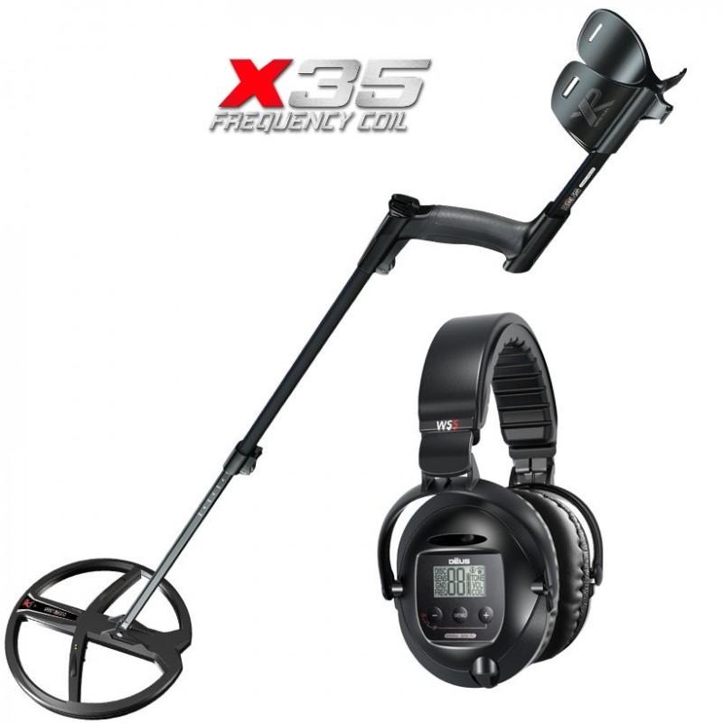 Металлоискатель XP Deus X35 v.5.21 (катушка 28 см, наушники WS5, без блока)