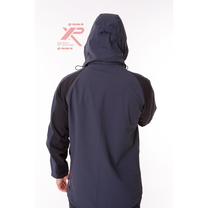 Костюм REPTIL SoftShell APEX, серый/черный