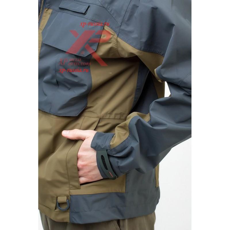 Куртка Брод Таслан, черный/хаки