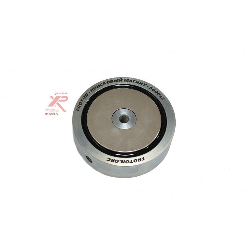 Двухсторонний поисковый магнит F600х2 Froton