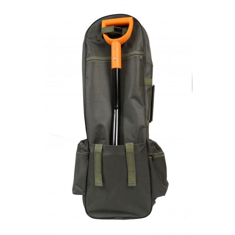 Рюкзак кладоискателя открытый