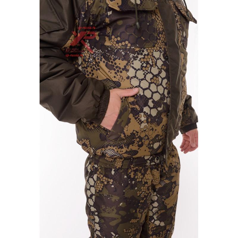 Костюм с полукомбинезоном Егерь -45, Дюспа, бежевый