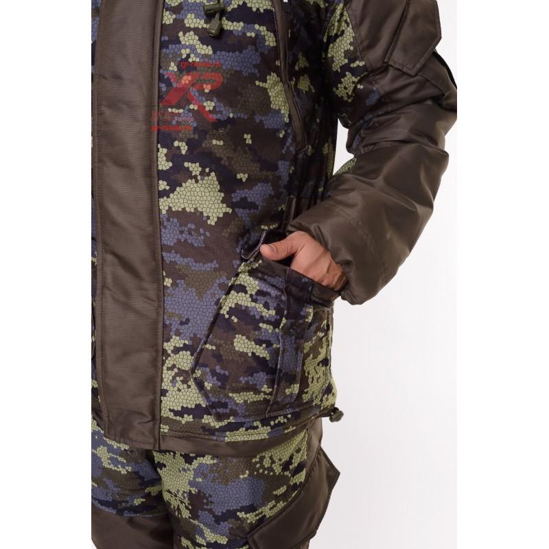 Костюм с полукомбинезоном Горный -45, Алова, коричневый